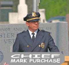 Police Chief Mark Purchase